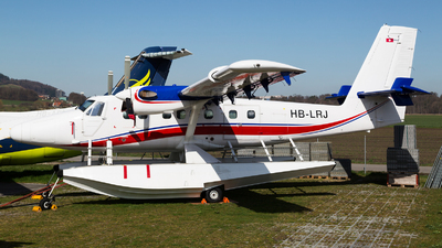 HB-LRJ - De Havilland Canada DHC-6-300 Twin Otter - Private
