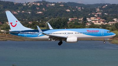 G-TAWA - Boeing 737-8K5 - Thomson Airways