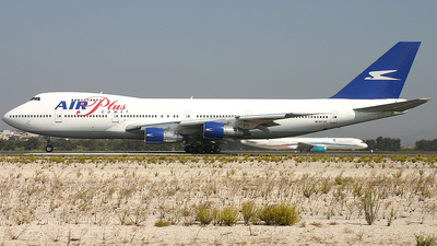 EC-IZL - Boeing 747-287B - Air Plus Comet