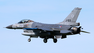 J-513 - General Dynamics F-16AM Fighting Falcon - Netherlands - Royal Air Force