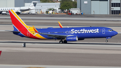 N8663A - Boeing 737-8H4 - Southwest Airlines