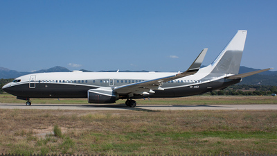 VP-BBZ - Boeing 737-8LX(BBJ2) - Gama Aviation