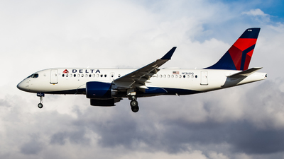 A picture of N136DQ - Airbus A220100 - Delta Air Lines - © John Marzo