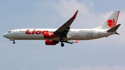 PK-LQS - Boeing 737-9GPER - Lion Air
