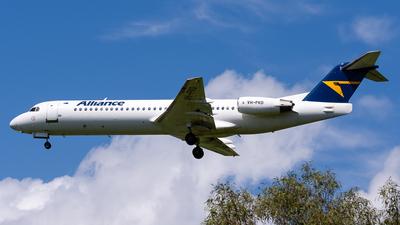 VH-FKD - Fokker 100 - Alliance Airlines