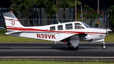 N59VK - Beechcraft G36 Bonanza - Private