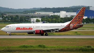 9M-LCH - Boeing 737-8GP - Malindo Air