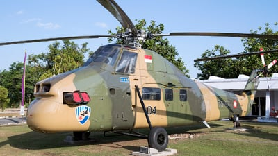 H-3404 - Sikorsky S-58T - Indonesia - Air Force