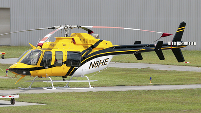 N6HE - Bell 407 - Helicopter Express