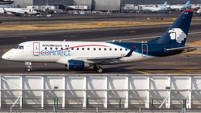 A picture of XAALK - Embraer E170LR - [17000107] - © Antonio Velasco Cruz