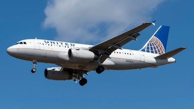 A picture of N851UA - Airbus A319131 - United Airlines - © Kerrigan_Aviation_NJ