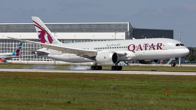 A picture of A7BDC - Boeing 7878 Dreamliner - Qatar Airways - © Marco Wolf