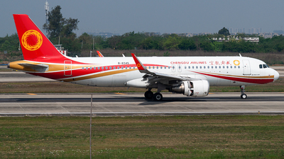 B-8345 - Airbus A320-214 - Chengdu Airlines