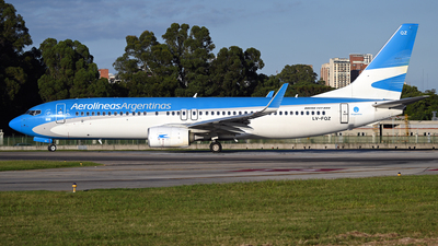 A picture of LVFQZ - Boeing 7378BK - Aerolineas Argentinas - © PAUL LINK