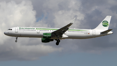 D-ASTD - Airbus A321-211 - Germania