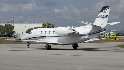 N830JS - Cessna 560XL Citation Excel - Private