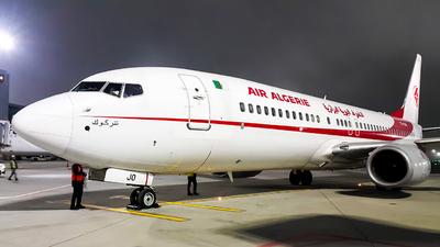 A picture of 7TVJO - Boeing 7378D6 - Air Algerie - © Turkay Oksuz