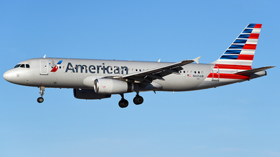 N665AW - Airbus A320-232 - American Airlines