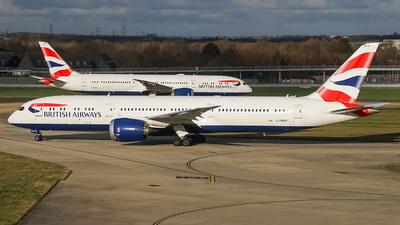A picture of GZBKR - Boeing 7879 Dreamliner - British Airways - © Simon330lover