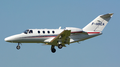 F-HRCA - Cessna 525 Citation CJ1 - Private