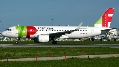 A picture of CSTVD - Airbus A320251N - TAP Air Portugal - © a.m.