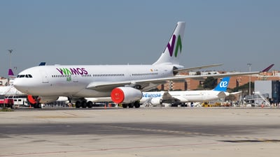 EC-NBN - Airbus A330-243 - Wamos Air