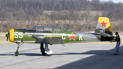 N22591 - Nanchang CJ-6A - Private