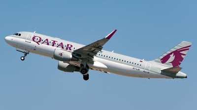 A7-LAC - Airbus A320-214 - Qatar Airways
