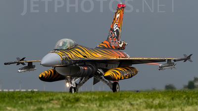 92-0014 - General Dynamics F-16C Fighting Falcon - Turkey - Air Force