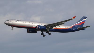 VQ-BNS - Airbus A330-343 - Aeroflot