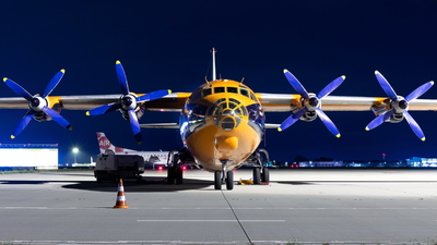 UR-CKM - Antonov An-12B - Cavok Air