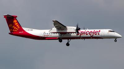 VT-SQI - De Havilland Canada Dash 8-402 - SpiceJet