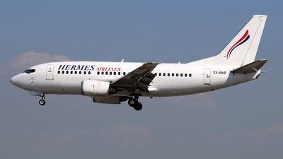 SX-BHR - Boeing 737-5L9 - Hermes Airlines
