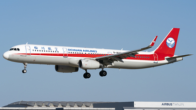 A picture of B1823 - Airbus A321231 - Sichuan Airlines - © Li Youyang
