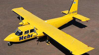G-HEBS - Britten-Norman BN-2B-26 Islander - Hebridean Air Services