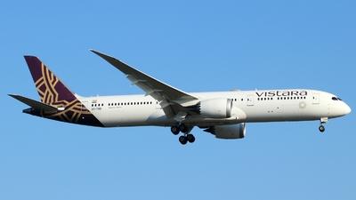A picture of VTTSD - Boeing 7879 Dreamliner - Vistara - © Miroslav Musil