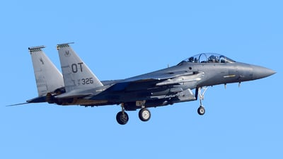 91-0325 - McDonnell Douglas F-15E Strike Eagle - United States - US Air Force (USAF)