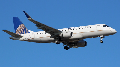 A picture of N732YX - Embraer E175LR - United Airlines - © Andriy Yegorov