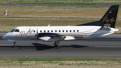 N361AG - Saab 340B+ - Penair