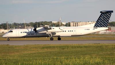 C-GKQI - Bombardier Dash 8-Q402 - Porter Airlines