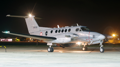 AS1126 - Beechcraft B200 Super King Air - Malta - Armed Forces