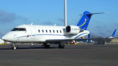 D-ASHY - Bombardier CL-600-2B16 Challenger 605 - Private