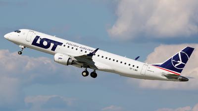 SP-LMA - Embraer 190-100STD - LOT Polish Airlines