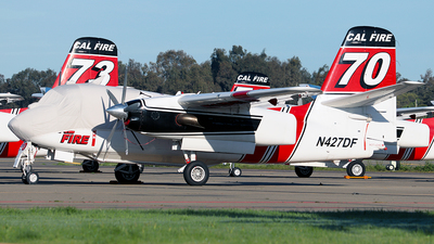 N427DF - Grumman S-2F3AT Turbo Tracker - United States - California Department of Forestry