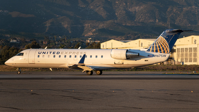 A picture of N967SW - Mitsubishi CRJ200LR - United Airlines - © Beck Ramsey