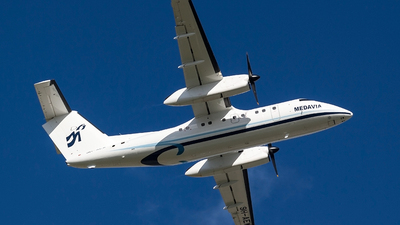 A picture of 9HAEW - De Havilland Canada Dash 8100 -  - © Ray Pace
