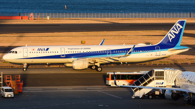 JA112A - Airbus A321-211 - All Nippon Airways (ANA)