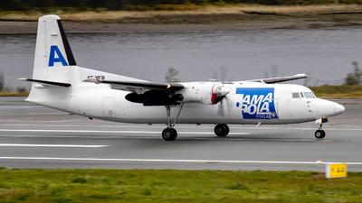 SE-MFB - Fokker 50 - Amapola Flyg