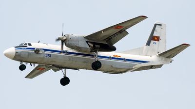 251 - Antonov An-26 - Vietnam - Air Force