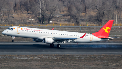 B-3143 - Embraer 190-200LR - Tianjin Airlines